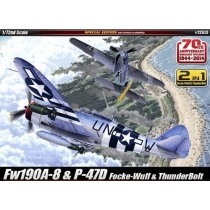 Fw190a-8 & P-47d Include 2 Modelli