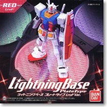 Action Base Lightning Base Plate Type Red Ver. by Bandai
