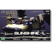 Armored Core GA GAN01 Sunshine model kit