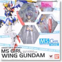 Robot Spirits Armor Girls Project MS Girl Wing Gundam