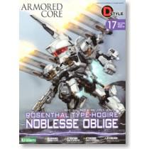 D-Style Rosenthal Type-Hogire Noblesse Oblige Model kit