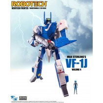 Robotech Veritech Micronian Pilot Collection Action Figure 1/100 Max Sterling VF-1J