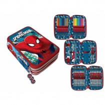 Spiderman astuccio 3 zip 36 pcs Regabilia