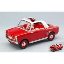 Autobianchi Bianchina Trasformabile 1958 Red/White