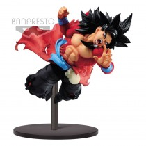 Super Dragon Ball Heroes PVC Statue Super Saiyan 4 Son Goku Xeno 9th Anniversary