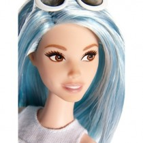Barbie Fashionistas Doll 69 Hair Blue
