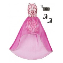 Barbie complete Looks Pink Dress Mattel
