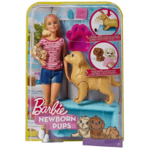 Barbie Newborn Pups Mattel