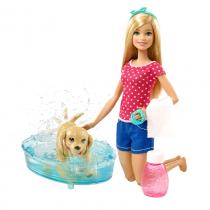 Barbie bagnetto cuccioli DGY83