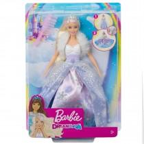 Barbie Dreamtopia Bambola Principessa Magia d'inverno Giocattolo per bambini Mattel