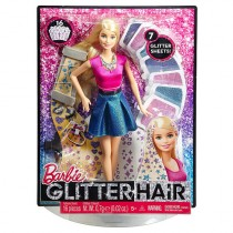 Barbie Glitter Hair Design Doll - Blonde