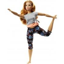Barbie Mattel Curvy con Capelli Ramati Bambola Snodata