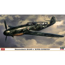 Messerschmitt Bf 109F-4 Super Exsperten by Hasegawa