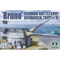 'Bruno' German Battleship Bismarck Turret B
