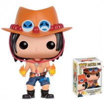 Funko POP vinyl from One Piece featuring the character of Portgas Ace.