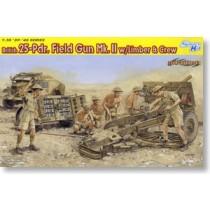 British 25-Pdr. Field Gun Mk.II w/Limber & Crew