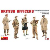 British Officers with 5 Figures