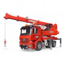 MB Arocs Crane Truck with light and sound module
