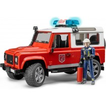 Land Rover defender station Wagon fire department