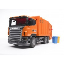 Scania R-series Garbage truck ( orange )