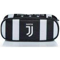 Bustina Ovale Juventus con elastici portamatite