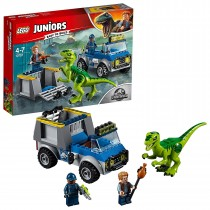 Camion per il soccorso di Velociraptor Lego 10757