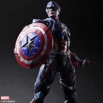 Marvel Universe Variant Play Arts Kai Captain America