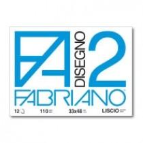 Cartella disegno Fabriano FA2 33x48 FG 12 Liscio