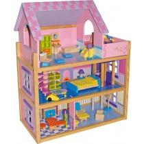 Casa delle bambole rosa