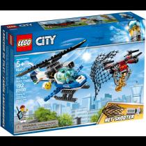 Lego Inseguimento con il drone della Polizia aerea NEW 01-2019