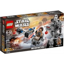 Lego Star Wars Ski Speeder First Order Walker Microfighters