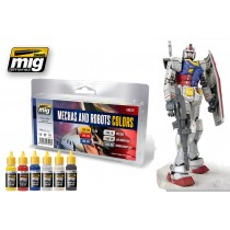 Robot & Mechas color set 7127