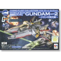 Cosmo Fleet Collection Gundam Act2 -Afterglow of Zeon- 5 pieces