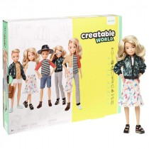 Barbie Mattel Creatable World Kit Deluxe Capelli biondi