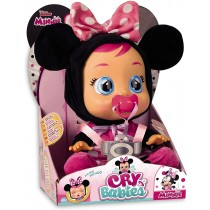 IMC Toys Cry babies Minnie Bambola Che Piange