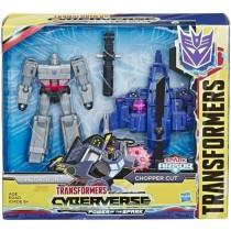 Cyberverse Megatron & Chopper cut