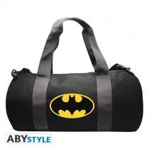 """DC COMICS - Sport bag """"Batman"""" - Grey/Black"""