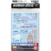 Gundam Decal (MG) for Gundam Ver.3.0 (Gundam Model Kits)