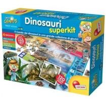 I am a Genius Dinosauri super kit 4 in 1 Lisciani