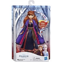 Disney Frozen Canto Anna Fashion Doll con Musica