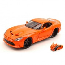 Dodge Viper Gts Srt 2013 Orange by Maisto