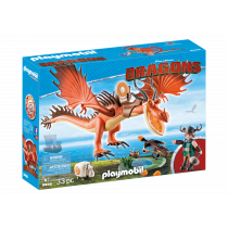 Playmobil Dragons Zannacurva