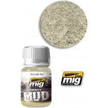 Heavy mud texture dry light 1700