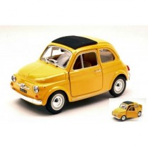 Fiat 500 F 1965 Yellow