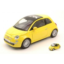 Fiat 500 2009 Yellow by Motormax