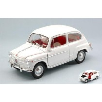 Fiat 600 D 1960 White by Editoria