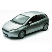 Fiat Grande Punto 2005 Silver by New Ray