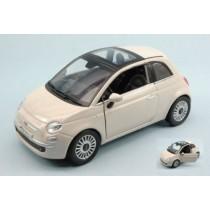 Fiat Nuova 500 2007 Ivory White by New Ray