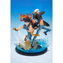 Figuarts Zero Monkey D. Luffy & Trafalgar Law -5th Anniversary Edition Bandai