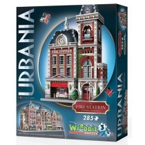 Wrebbit Puzzle 3D Fire Station